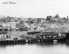 The Southern Pacific Passenger Station on the San Pedro waterfront, ca. 1913. Source: USC Digital Library