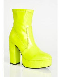 91c9ad615690 Current Mood. Rave OutfitsCurrent MoodNeon YellowPlatform BootsKandiSock  ShoesFestival ...