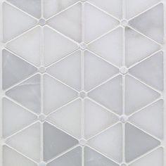 Highland Akoya Marble & Pearl Tile | TileBar.com