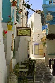 'Souvlaki', Paros island, Greece <3