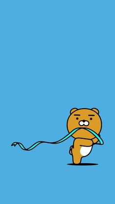 Check out this awesome collection of Kakao Friends wallpapers, with 37 Kakao Friends wallpaper pictures for your desktop, phone or tablet. Lines Wallpaper, Bear Wallpaper, Animal Wallpaper, Drawing Wallpaper, Cellphone Wallpaper, Iphone Wallpaper, Ryan Bear, Kakao Ryan, Sentimental Circus