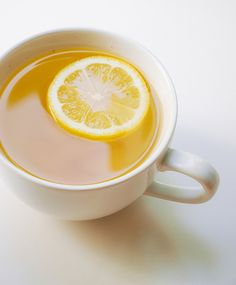 Ginger lemon detox water/tea that will burn fat and get rid of toxins in the body. All that is needed is ice, water, 4 lemons and 2 ginger roots!