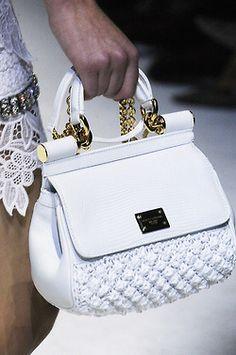 Rosamaria G Frangini | High Bags | Dolce & Gabbana White* Bag