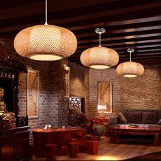 High Quality Bamboo Lamp Shade Pendant Rattan Pendant | Etsy Bamboo Pendant Light, Bamboo Light, Bamboo Lamp, Ceiling Pendant, Pendant Lighting, Chandelier, Ceiling Lights, Rattan Lamp, Basket Lighting