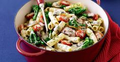 """""""Creamy beef and vegetable stroganoff"""" If you've got the day off today, or even if you don't, why not try your hand at this classic dish. Stroganoff Recipe, Beef Stroganoff, Beef Chops, Russian Recipes, Beef Dishes, Savoury Dishes, Main Meals, Pork Recipes, Casserole Recipes"""