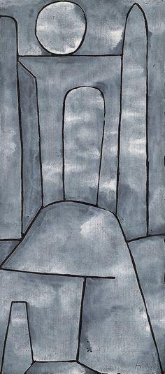 ¤ Paul Klee. A Gate -1939
