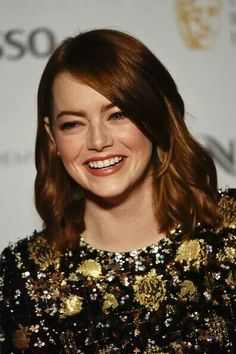 Emma stone attends british acadmy film awards nominees bash in london