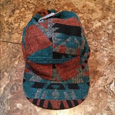 new Aztec print baseball cap hat New Aztec print baseball hat by carbon  elements man s about very unisex adjustable back new with tags. carbon  Accessories ... 121a4556d99