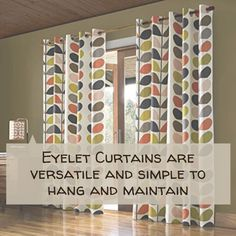 Eyelet curtains are a great way to create a modern look, especially if you have French windows or bi-fold doors, and need a finish that hangs in wide, loose folds. They are simple to hang as the big ring slots easily onto the curtain pole. Mary's supplies ready-made eyelet curtains and can manufacture custom-made curtains. Shop 6A Illovo Square Shopping Centre/011 268 0329/nikos@marysinteriors.co.za. #unique #marysinteriors #curtains #surroundyourselfincomfort #interiordesign #decor #design Ready Made Eyelet Curtains, Custom Made Curtains, Custom Made Furniture, Furniture Making, Lounge Suites, French Windows, Curtain Poles, Interior Decorating, Interior Design