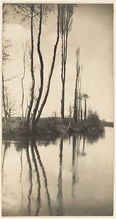 On a French River - Frederick H. Evans, 1902
