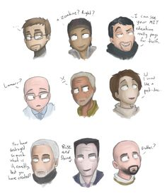 Half Life 2 Characters by Super-Cute on DeviantArt Half Life Game, Valve Games, G Man, Weapon Concept Art, Marvel, Comic Movies, Game Art, Holi, Portal