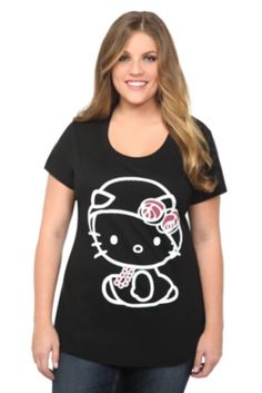 Hello Kitty Flapper Scoop Neck Tee | Torrid -- I have this