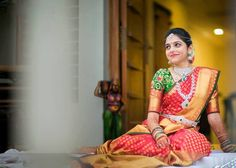 South Indian Bride with gorgeous Bridal MakeOver.
