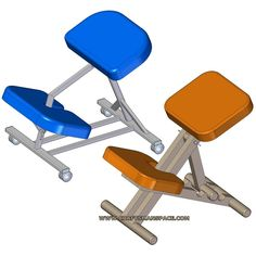 Ergonomic Orthopaedic Posture Saddle Chair This