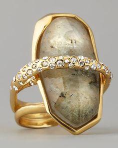 Orbiting Labradorite Ring by Alexis Bittar at Neiman Marcus.