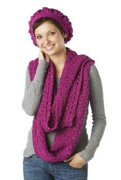 1000+ images about Crochet Hat & Scarf Sets on Pinterest ...