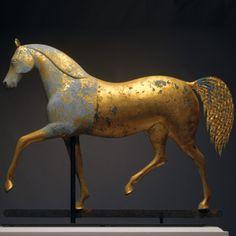 Winter Antiques Show - horse weather vane
