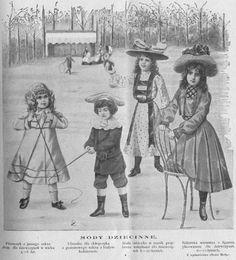 Stroje dla dzieci, 1902 Children's clothes, 1902