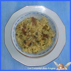 Petite Recette de Riz et de Champignons au Rice Cooker | La Cuisine des Anges