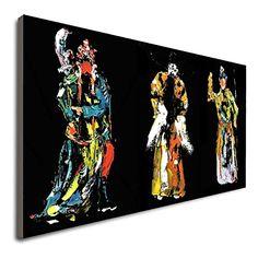 Amazon.com: Chinese Ancient Opera Art Painting Hand Painted Hand Painted Oil Paintings On Canvas For Dining Rooms Large Oil Painting Large Oil Painting Painted By Hand Not A Print KSALPCH: Handmade