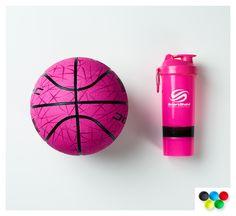 When your SmartShake matches your basketball, success on court is a slam dunk...  #SmartShake #ookSmart #Basketball #Pink #Lifestyle #mixmatch #dribble #slamdunk #court