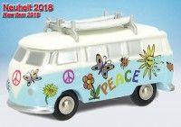 "Piccolo VW T1 Bulli Bus ""Peace"""