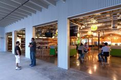 iProspect's Raw and Open Warehouse Offices