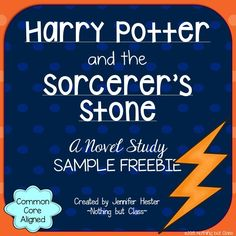 This is a 6 page sample of my novel study for Harry Potter and the Sorcerer's Stone by J.K. Rowling.  Includes student work for Chapter 1 and a Point of View activity!