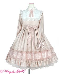 イノセントLadyワンピース Tokyo Fashion, Harajuku Fashion, Lolita Fashion, Asian Fashion, Kawaii Dress, Kawaii Clothes, Pretty Outfits, Pretty Dresses, Cute Outfits