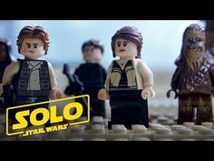 """We're putting together a crew… with LEGO bricks in this version of the Solo: A Star Wars Story trailer! Board the Millennium Falcon and journey to a galaxy far, far away in """"Solo: AStar WarsStory,"""" an all-new adventure with the most beloved scoundrel in thegalaxy.Through a series of daring escapades deep within a dark …"""