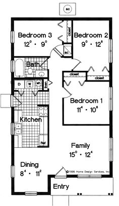 Plan Floor on cute small unique house plans