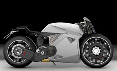 Big Battery SE electric motorcycle concept