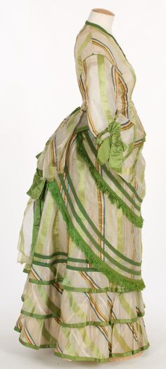 Bustle, 1870-75.                                                                                                                                                      More