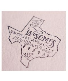 Custom State Return Address Stamp | Sure, a bottle of wine is a nice gesture… but what your friends really want is something special to spruce up their new space. Whether you're on the hunt for something practical or adorable, one of these unique offerings will surely close the deal.