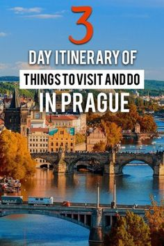 Are you heading to Prague for the first time? Get ready to be swept off your feet. Here are 15 things to do in Prague for First-Timers. What to do in 3 days in Prague. European Destination, European Travel, European Vacation, Europe Travel Guide, Travel Guides, Spain Travel, Travel Advice, Places To Travel, Travel Destinations