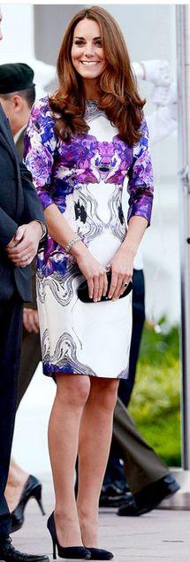 Dress - Prabal Gurung Shoes - Prada similar style shoes Stuart Weitzman - DaisySatin - Black Satin Pump