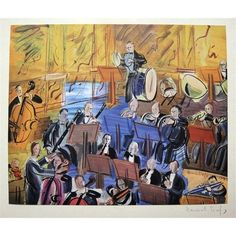 L'orchestra, 1950. Raoul Dufy, French, (1877-1953)