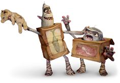 LAIKA World, The Boxtrolls puppeteers tirelessly hand-paint...