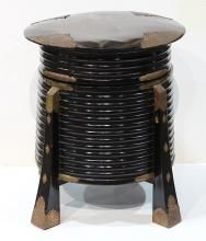 Japanese Black Lacquered Kaioke Container - Price Estimate: $300 - $500