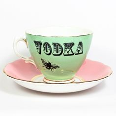 Not sure The Talented Tea Cup  approves but still pretty funny!