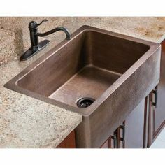 I am in love with apron sinks. How timeless does this look?
