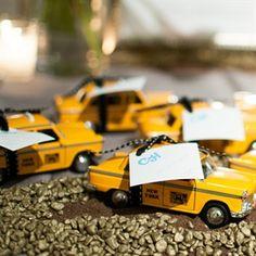 Mini Taxi Escort Cards