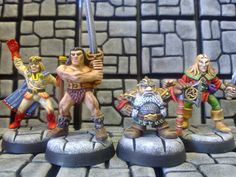 Realm of Chaos 80s : Ode to Heroquest: Gorgeous Citadel Miniatures by Florian