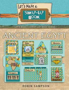 Ancient Egypt Scrap Lapbook & Egypt Clip Art by DigiScrapDelights
