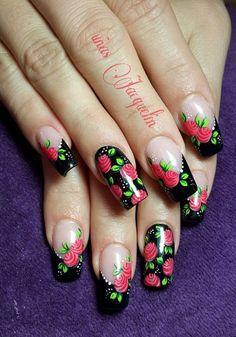 Manicure, Simple Nails, Nails Inspiration, Gel Polish, Veronica, Cute Nails, Nail Designs, Nail Art, Pretty