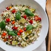 Summer Corn and Barley Salad | www.kitchenconfidante.com