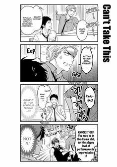 Gekkan Shoujo Nozaki-kun Manga    Mikoshiba's 'Girlfriend'
