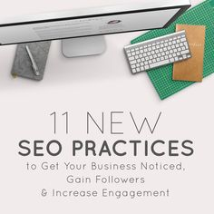 11 SEO practices to get your business noticed: http://www.thinkcreativekc.com/blog/2015/7/16/11-new-seo-practices-to-get-your-business-noticed-gain-followers-increase-engagement?utm_content=buffer234a0&utm_medium=social&utm_source=pinterest.com&utm_campaign=buffer