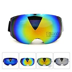 Unisex Adults Professional Anti-fog Dual Lens Snowboard Ski Goggle Eyewear With Magnet Lenses … https://www.amazon.co.uk/dp/B06XGXKJLY?th=1