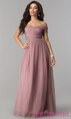 Pleated-Bodice Off-Shoulder Long Tulle Prom Dress Bridesmaid Dresses, Prom Dresses, Wedding Dresses, Pleated Bodice, Prom Girl, Tulle Prom Dress, A Line Skirts, Evening Gowns, Homecoming